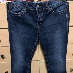 Silver boot cut size 30